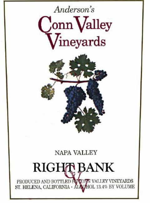 Anderson's Conn Valley Vineyards Right Bank Proprietary Red Blend 2008 Front Label