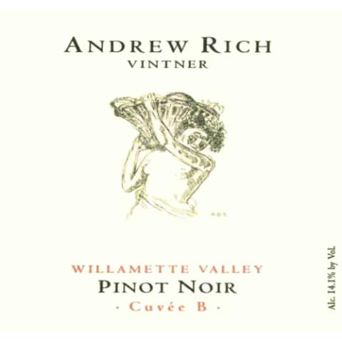 Andrew Rich Cuvee B Pinot Noir 2008 Front Label