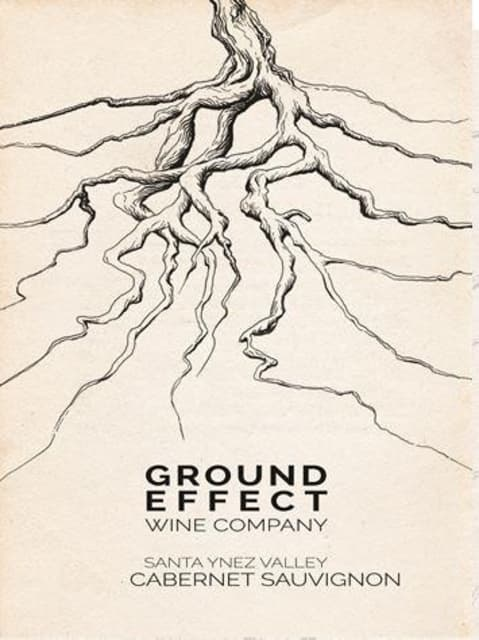 Ground Effect Cabernet Sauvignon 2014 Front Label