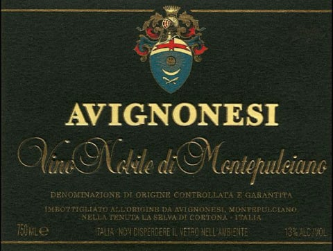 Avignonesi Vino Nobile di Montepulciano (375ML half-bottle) 2008 Front Label