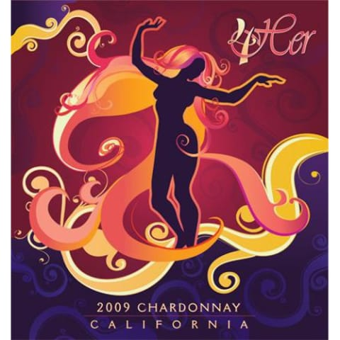 Wines 4 Cures 4 Her Chardonnay 2009 Front Label