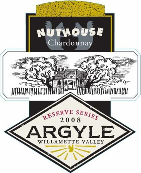 Argyle Nuthouse Chardonnay 2008 Front Label