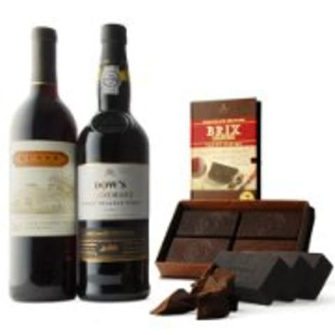 wine.com BRIX Chocolate for Port and Zinfandel Wine Gift Set Gift Product Image