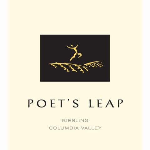 Poet's Leap Riesling (375ML half-bottle) 2010 Front Label