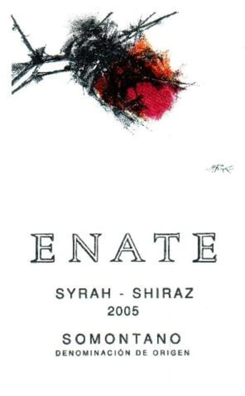 Enate Syrah-Shiraz 2005 Front Label