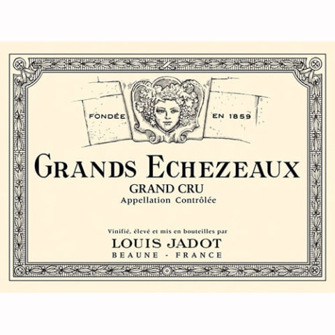 Louis Jadot Grands Echezeaux 2009 Front Label