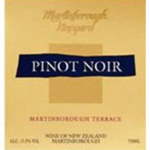 Martinborough Pinot Noir 2008 Front Label