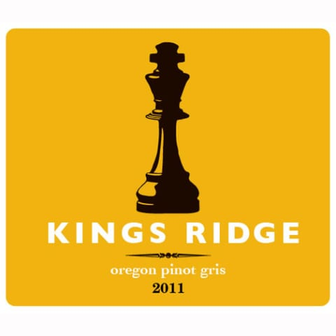 Kings Ridge Pinot Gris 2011 Front Label
