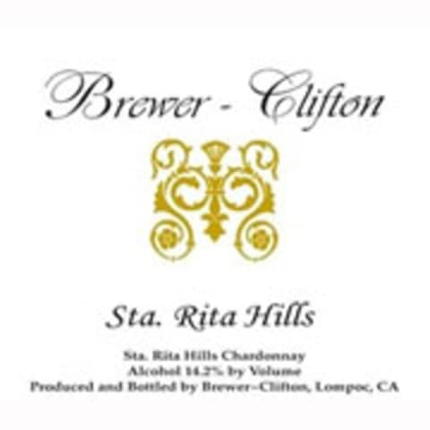 Brewer-Clifton Sta. Rita Hills Chardonnay 2009 Front Label