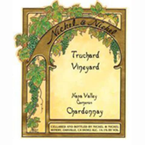 Nickel & Nickel Truchard Vineyard Chardonnay 2010 Front Label