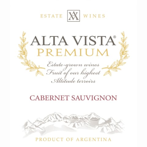 Alta Vista Estate Cabernet Sauvignon 2011 Front Label