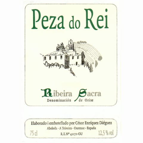 Adega Cachin Peza do Rei Blanco 2011 Front Label