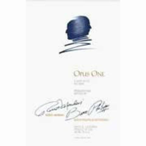 Opus One 6-Pack Wood Case (OWC) 1984 Front Label