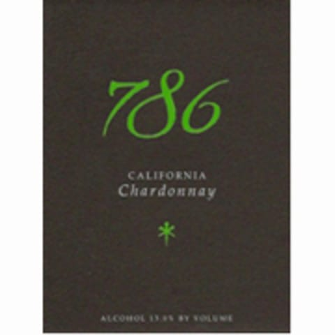 786 Wines Chardonnay 2010 Front Label