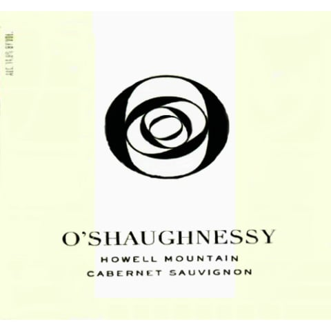 O'Shaughnessy Howell Mountain Cabernet Sauvignon 2009 Front Label