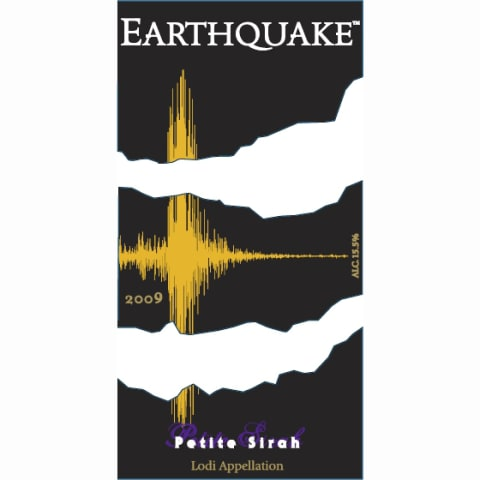 Michael David Winery Earthquake Petite Sirah 2009 Front Label