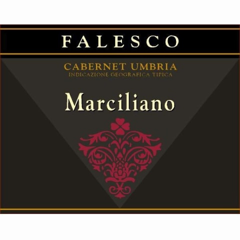 Falesco Marciliano 2008 Front Label
