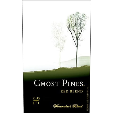 Ghost Pines Red Blend 2011 Front Label