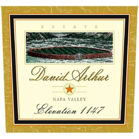 David Arthur Elevation 1147 Estate Cabernet Sauvignon 2000 Front Label