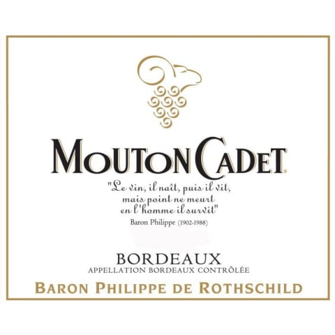 Mouton Cadet Rouge 2011 Front Label