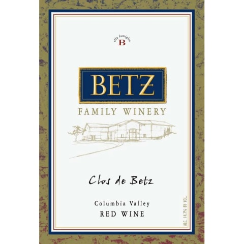 Betz Family Winery Clos de Betz 2010 Front Label