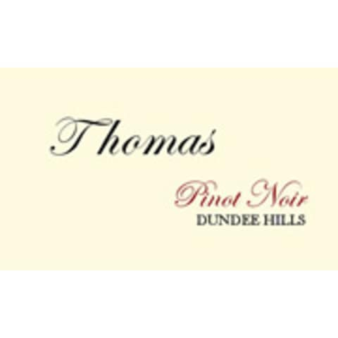 Thomas Winery Pinot Noir (1.5 Liter Magnum) 2002 Front Label