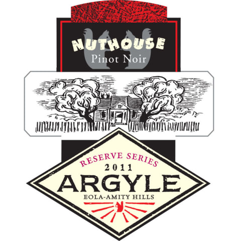 Argyle Nuthouse Pinot Noir 2011 Front Label