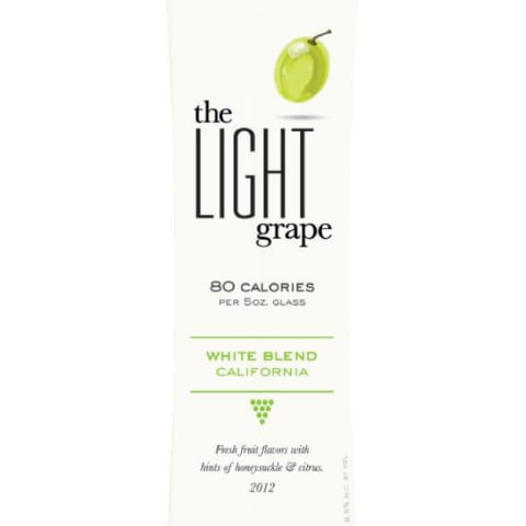The Light Grape White Blend 2012 Front Label