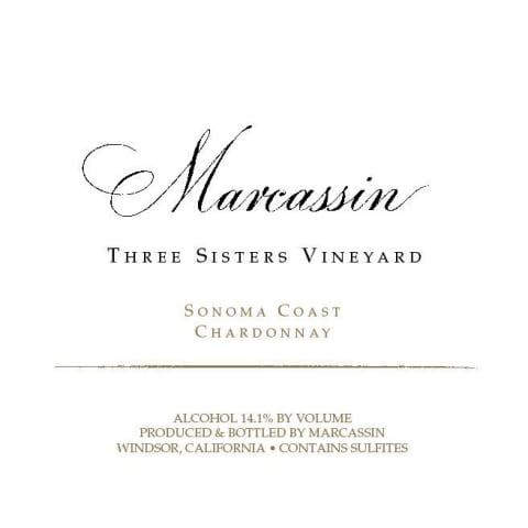 Marcassin Three Sisters Vineyard Chardonnay 2009 Front Label