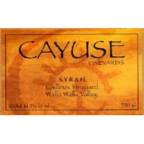 Cayuse Cailloux Syrah 2008 Front Label