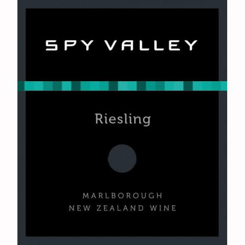Spy Valley Riesling 2012 Front Label