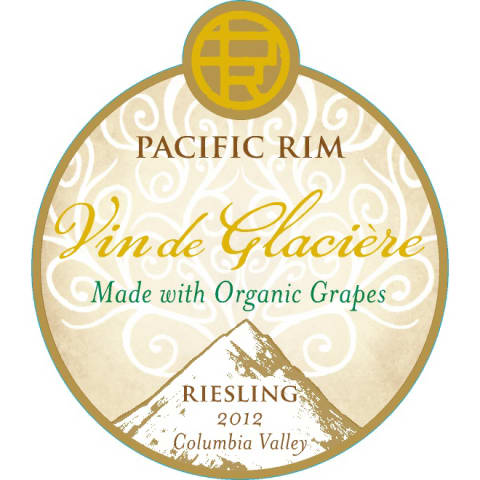 Pacific Rim Vin de Glaciere Organic Riesling (375ML Half-bottle) 2012 Front Label