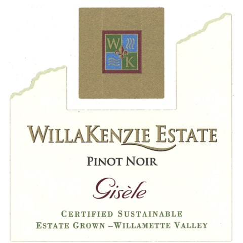 WillaKenzie Estate Gisele Pinot Noir 2012 Front Label
