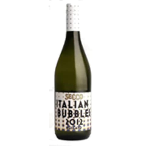 Secco Italian Bubbles by Charles Smith Moscato 2012 Front Label
