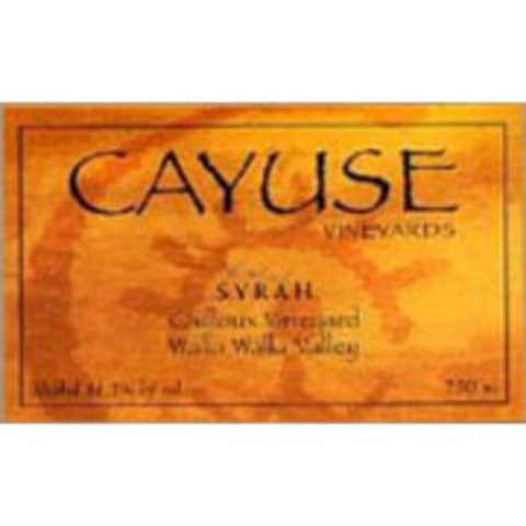 Cayuse Cailloux Syrah 2004 Front Label