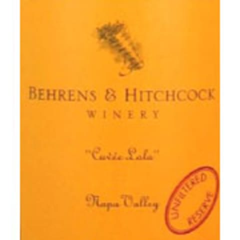 Behrens & Hitchcock Cuvee Lola 1997 Front Label