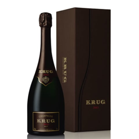 Krug Brut with Gift Box 2003 Front Label