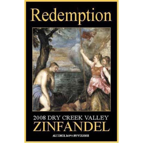 Alexander Valley Vineyards Redemption Zin 2008 Front Label