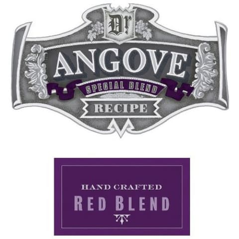 Angove Family Winemakers Dr. Angove Red Blend 2013 Front Label