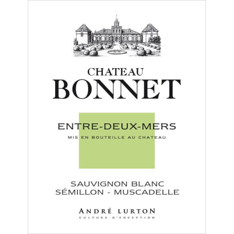 Chateau Bonnet Blanc 2013 Front Label