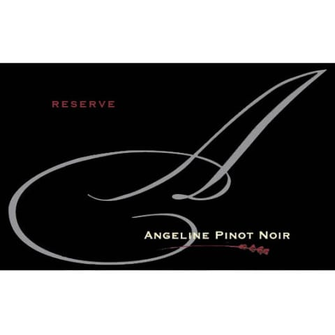Angeline Reserve Pinot Noir 2013 Front Label