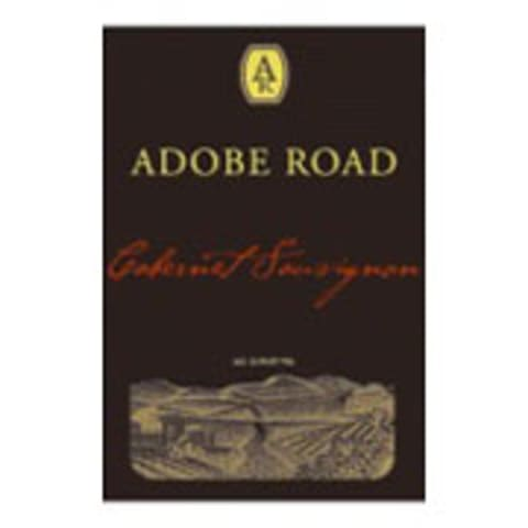 Adobe Road Beckstoffer Georges III Cabernet Sauvignon 2008 Front Label