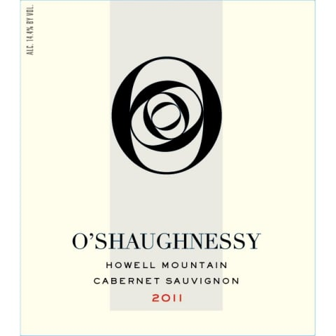 O'Shaughnessy Howell Mountain Cabernet Sauvignon 2011 Front Label