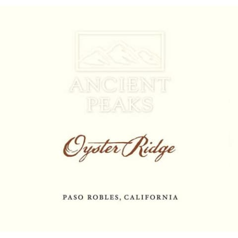 Ancient Peaks Paso Robles Oyster Ridge Red 2011 Front Label