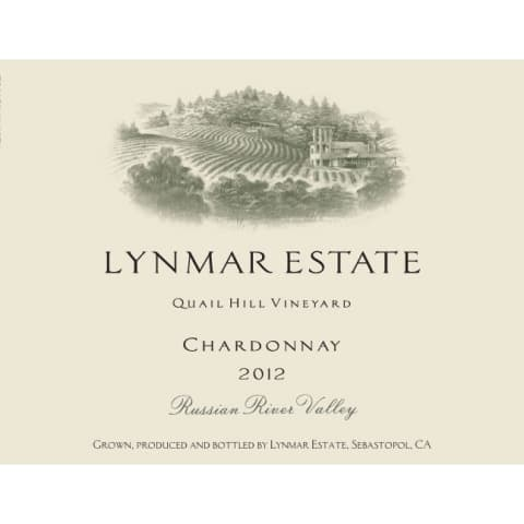 Lynmar Winery Quail Hill Cuvee Chardonnay 2012 Front Label