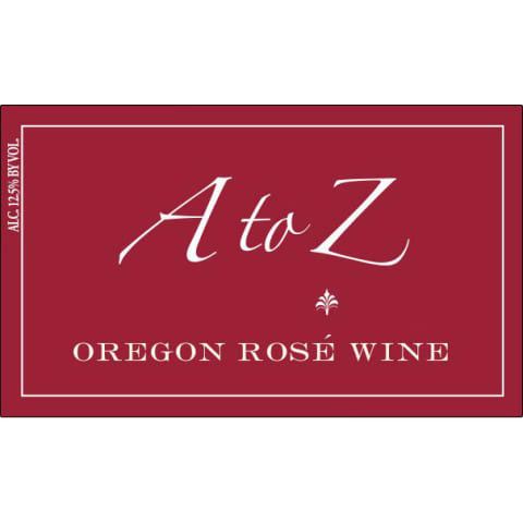 A to Z Rose 2014 Front Label