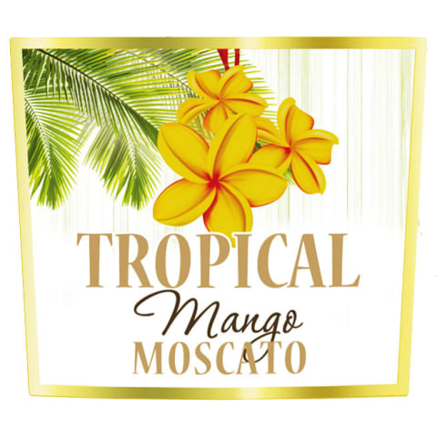 Tropical Mango Moscato Front Label