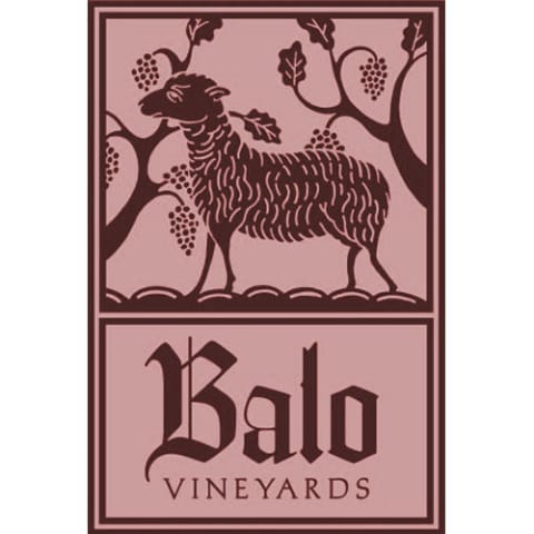Balo Anderson Valley Rose of Pinot Noir 2013 Front Label