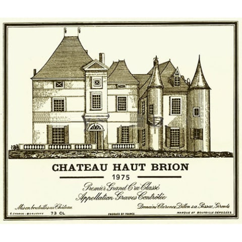 Chateau Haut-Brion  1975 Front Label