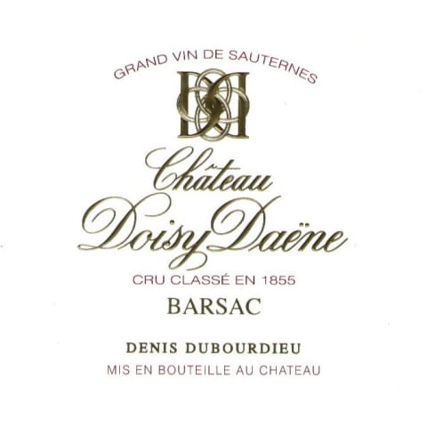 Chateau Doisy Daene (375ML half-bottle) 2014 Front Label